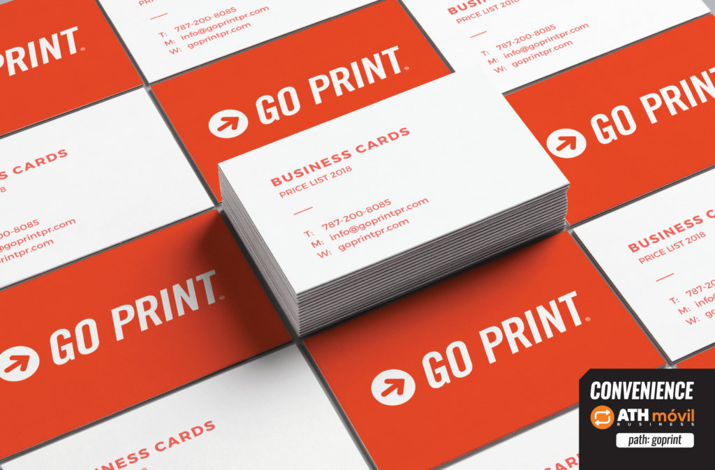 business cards price list 2018 go print
